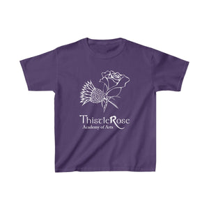 Organization (TRAA) - Thistle Rose Academy of Arts Youth Heavy Cotton Tee Purple / XS Kids Kids clothes