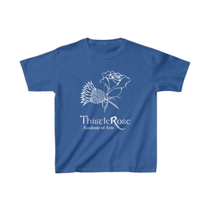 Organization (TRAA) - Thistle Rose Academy of Arts Youth Heavy Cotton Tee Royal / XS Kids Kids clothes