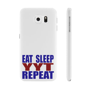 Organization (YYT) - Ypsilanti Youth Theatre Eat Sleep YYT Repeat Slim Phone Cases Samsung Galaxy S6 Slim Phone Case