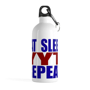 Organization (YYT) - Ypsilanti Youth Theatre Eat Sleep YYT Repeat Stainless Steel Water Bottle 14oz Mug