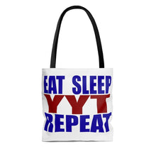 Organization (YYT) - Ypsilanti Youth Theatre Eat Sleep YYT Repeat Tote Bag Bags