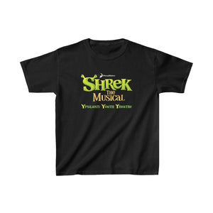 Organization (YYT) - Ypsilanti Youth Theatre Shrek Kids Heavy Cotton Tee L / Black Kids clothes