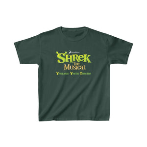 Organization (YYT) - Ypsilanti Youth Theatre Shrek Kids Heavy Cotton Tee XS / Forest Green Kids clothes