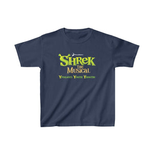 Organization (YYT) - Ypsilanti Youth Theatre Shrek Kids Heavy Cotton Tee XS / Navy Kids clothes