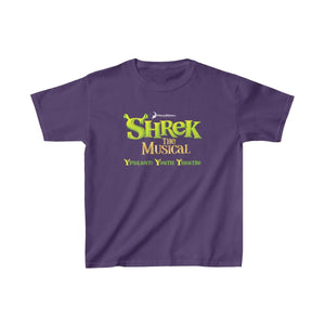 Organization (YYT) - Ypsilanti Youth Theatre Shrek Kids Heavy Cotton Tee XS / Purple Kids clothes