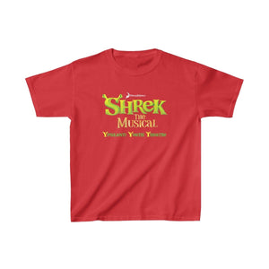 Organization (YYT) - Ypsilanti Youth Theatre Shrek Kids Heavy Cotton Tee XS / Red Kids clothes