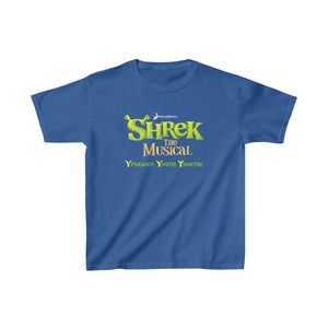 Organization (YYT) - Ypsilanti Youth Theatre Shrek Kids Heavy Cotton Tee XS / Royal Kids clothes