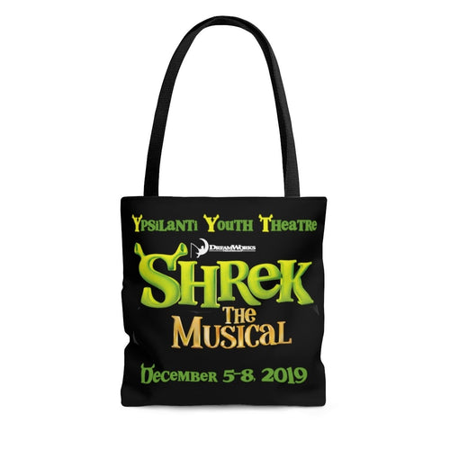 Organization (YYT) - Ypsilanti Youth Theatre Shrek Tote Bag Large Bags