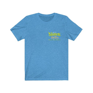 Organization (YYT) - Ypsilanti Youth Theatre Shrek Unisex Jersey Short Sleeve Tee Heather Columbia Blue / XS Men Women T-Shirt