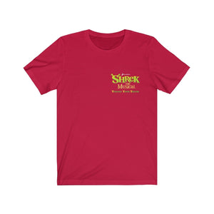 Organization (YYT) - Ypsilanti Youth Theatre Shrek Unisex Jersey Short Sleeve Tee Red / XS Men Women T-Shirt