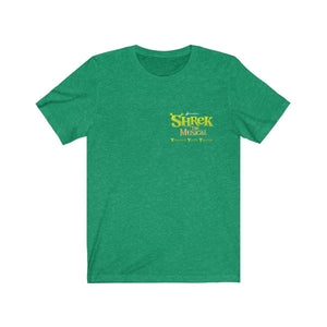 Organization (YYT) - Ypsilanti Youth Theatre Shrek Unisex Jersey Short Sleeve Tee Heather Kelly / XS Men Women T-Shirt