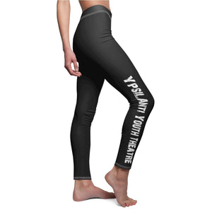 Organization (YYT) - Ypsilanti Youth Theatre Womens Casual Leggings White Seams / M Women All Over Prints