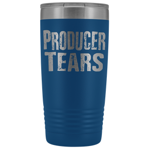 Producer Tears - 20oz Stainless Steel Insulated Tumblers Blue Tumblers