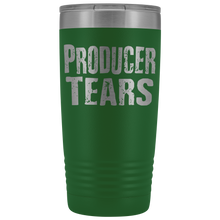 Producer Tears - 20oz Stainless Steel Insulated Tumblers Green Tumblers