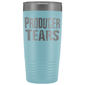 Producer Tears - 20oz Stainless Steel Insulated Tumblers Light Blue Tumblers