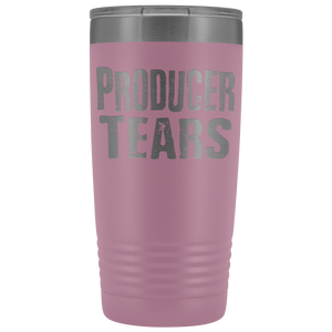 Producer Tears - 20oz Stainless Steel Insulated Tumblers Light Purple Tumblers