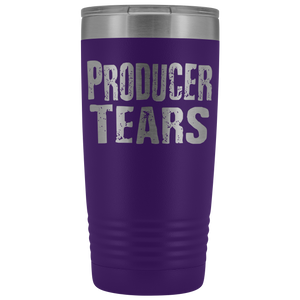 Producer Tears - 20oz Stainless Steel Insulated Tumblers Purple Tumblers