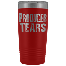 Producer Tears - 20oz Stainless Steel Insulated Tumblers Red Tumblers