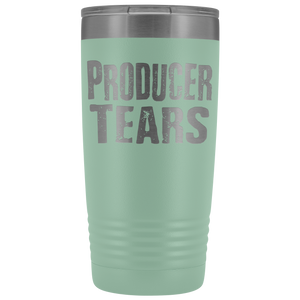 Producer Tears - 20oz Stainless Steel Insulated Tumblers Teal Tumblers