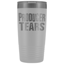 Producer Tears - 20oz Stainless Steel Insulated Tumblers White Tumblers