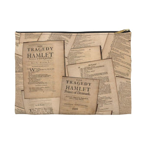 Shakespeare Hamlet - Accessory Pouch Large / Black Bags