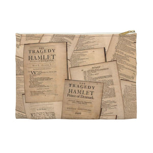 Shakespeare Hamlet - Accessory Pouch Small / White Bags