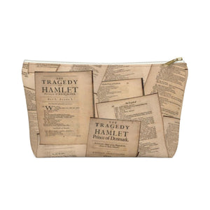 Shakespeare Hamlet - Accessory Pouch With T-Bottom White / Small Bags