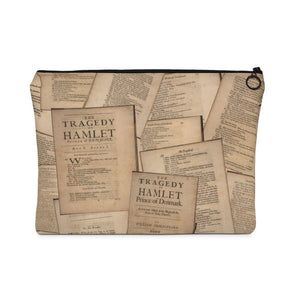 Shakespeare Hamlet - Carry All Pouch Large Bags