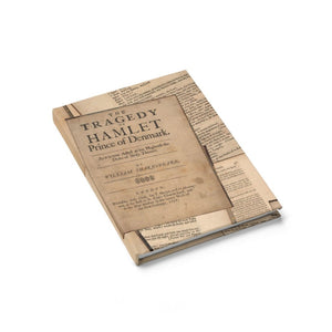 Shakespeare Hamlet - Journal - Ruled Line Paper Products