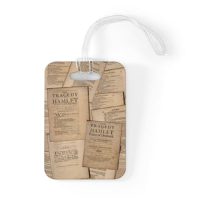 Shakespeare Hamlet - Luggage Bag Tag Accessories