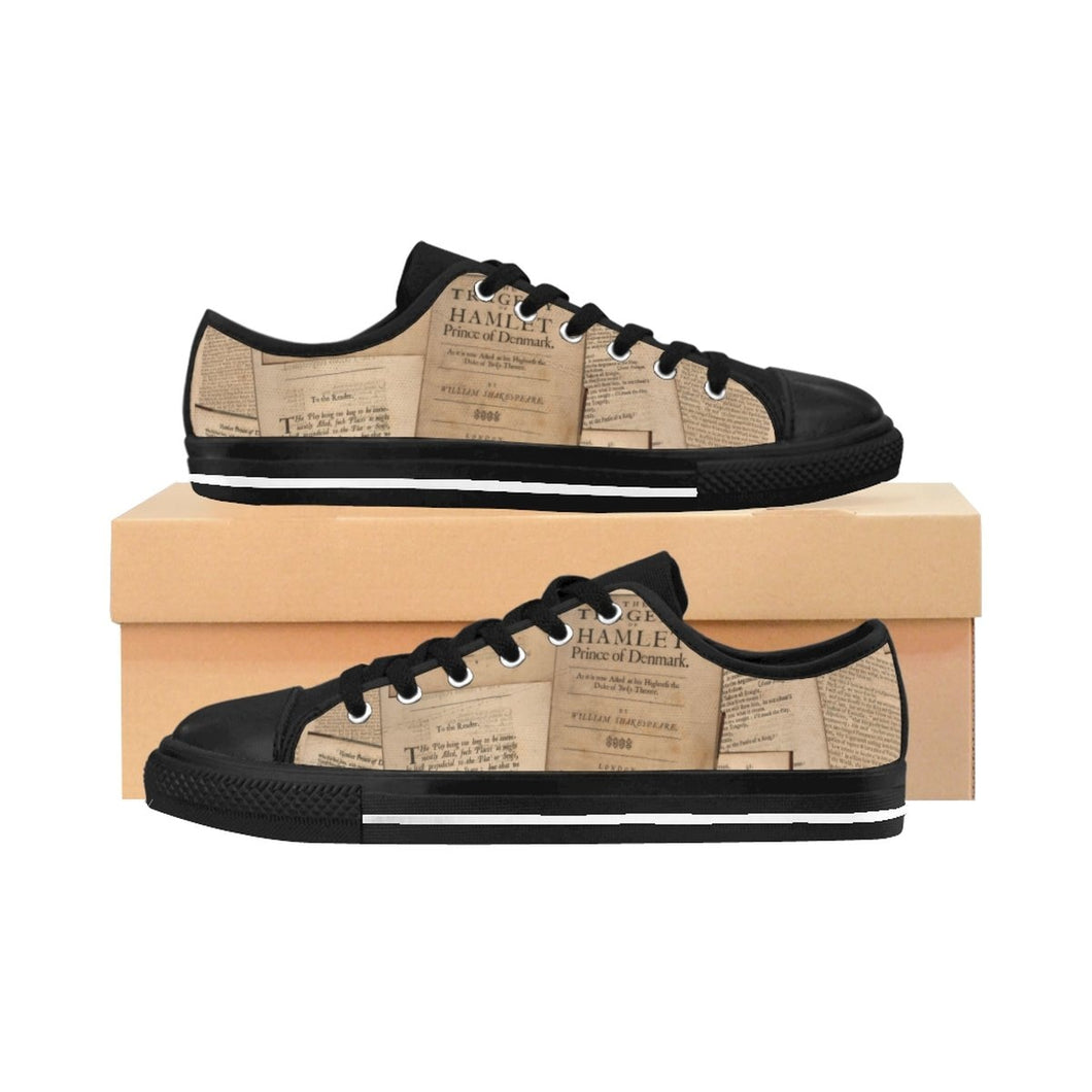 Shakespeare Hamlet - Mens Sneakers Us 10 Men Shoes