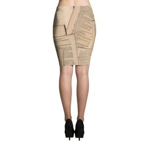 Shakespeare Hamlet - Pencil Skirt Women