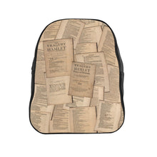 Shakespeare Hamlet - School Backpack Bags