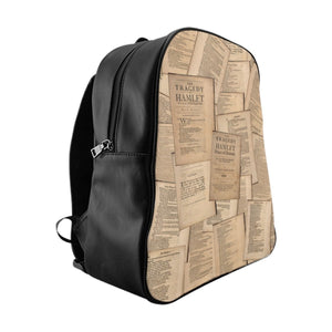 Shakespeare Hamlet - School Backpack Large Bags