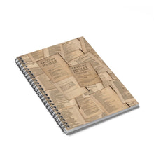 Shakespeare Hamlet - Spiral Notebook - Ruled Line Paper Products