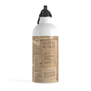 Shakespeare Hamlet - Stainless Steel Water Bottle Mug
