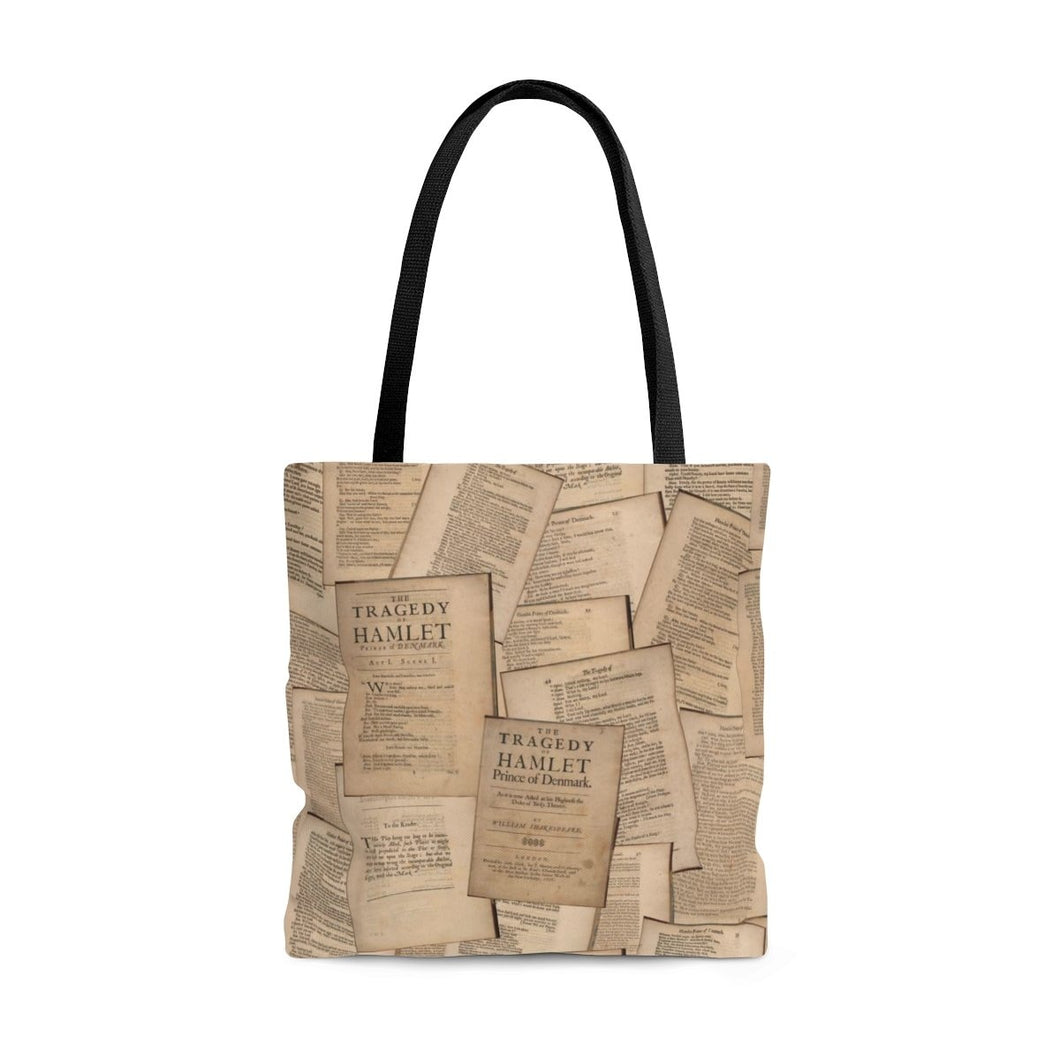 Shakespeare Hamlet - Tote Bag Large Bags