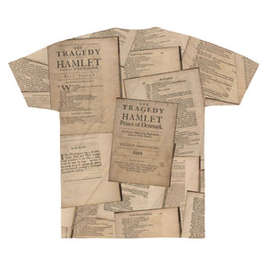 Shakespeare Hamlet - Unisex Tee Men Women All Over Prints