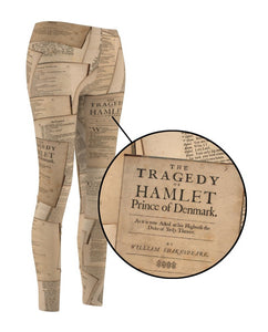 Shakespeare Hamlet - Womens Casual Leggings Women All Over Prints