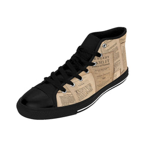 Shakespeare Hamlet - Womens High-Top Sneakers Women Shoes