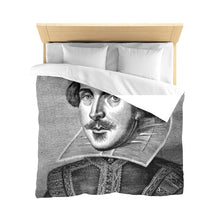 Shakespeare - Microfiber Duvet Cover White Home Decor