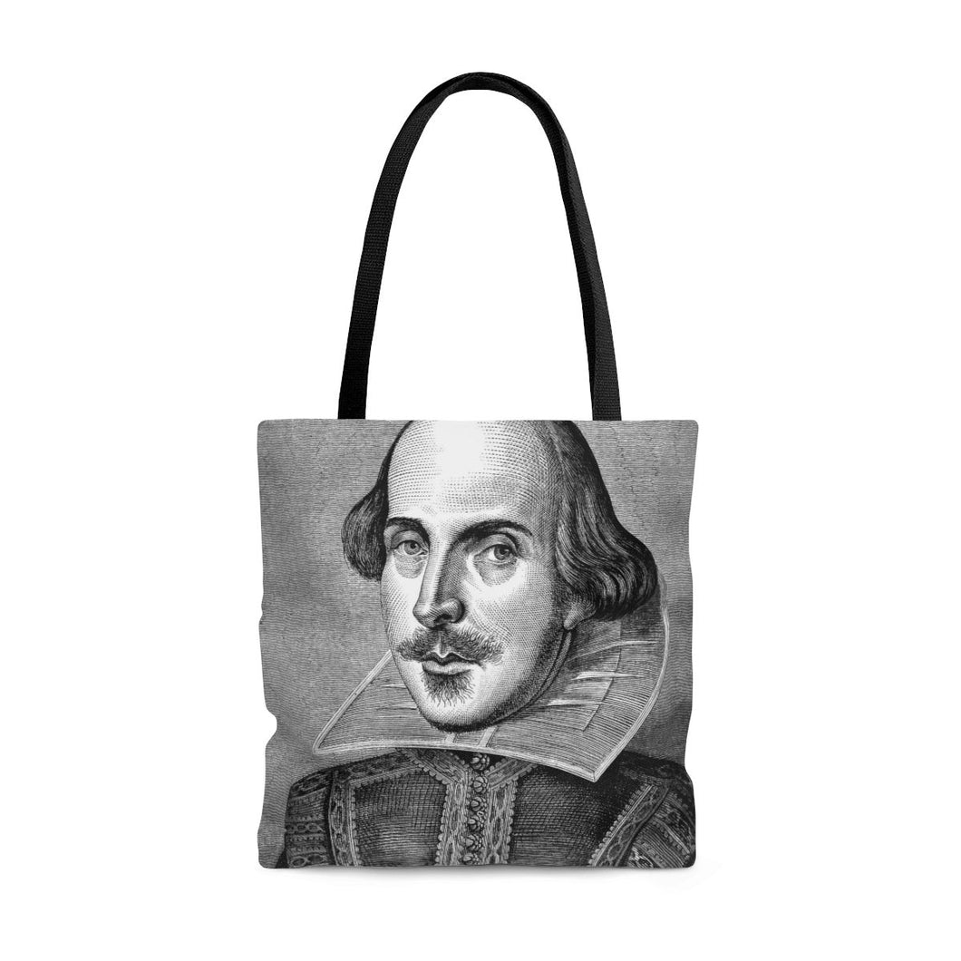 Shakespeare Portrait - Tote Bag Large Bags