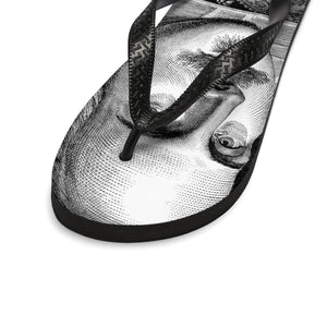 Shakespeare Portrait - Unisex Flip-Flops Men Shoes Women Shoes