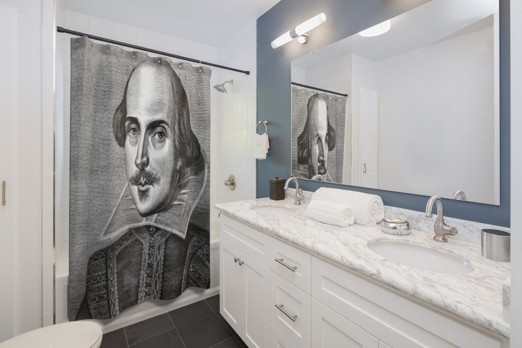 Shakespeare - Shower Curtains 71X74 Home Decor