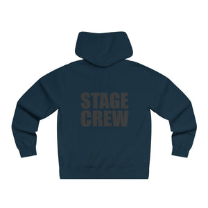 """Stage Crew"" - Men's Lightweight Pullover Hooded Sweatshirt - Theatre Geek Shirts & Apparel"