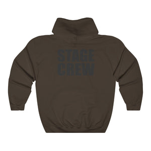 """Stage Crew"" - Unisex Heavy Blend Hooded Sweatshirt - Theatre Geek Shirts & Apparel"