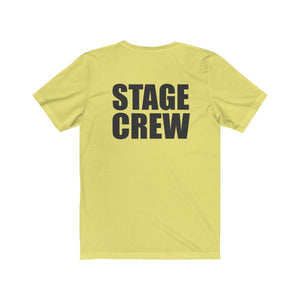"""Stage Crew"" - Unisex Jersey Short Sleeve Tee - Theatre Geek Shirts & Apparel"