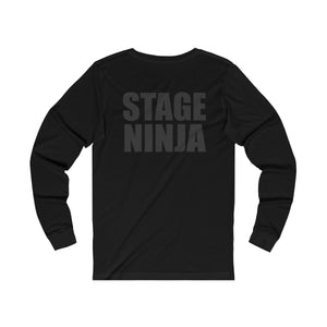 """Stage Ninja"" -  Unisex Jersey Long Sleeve Tee - Theatre Geek Shirts & Apparel"