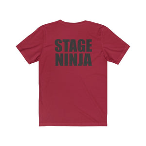 """Stage Ninja"" - Unisex Jersey Short Sleeve Tee - Theatre Geek Shirts & Apparel"