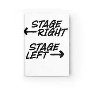 Stage Right Stage Left - Journal - Blank Paper Products